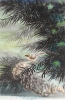 陈佩秋 花鸟 - 2605 - 中国书画  - 上海青莲阁第一百四十五届书画专场拍卖会 -收藏网