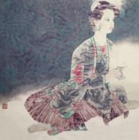 人物 - 4535 - 2010上海宏大秋季中国书画拍卖会 - 2010上海宏大秋季中国书画拍卖会 -收藏网