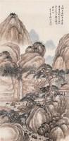 郭兰祥 壬申(1932年)作 松阴听泉图 轴 设色纸本 - 郭兰祥 - 中国近现代书画 - 2006艺术品拍卖会 -收藏网