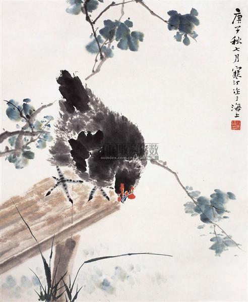 江寒汀(1903~1963)    大吉圖 - 13356 - 中国书画近现代名家作品 - 2006春季大型艺术品拍卖会 -收藏网
