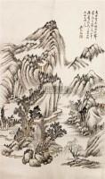 山水 立轴 纸本 - 吴琴木 - 中国书画 - 2010秋季艺术品拍卖会 -收藏网