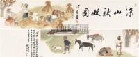 凉山秋收图卷 手卷 设色纸本 - 124317 - 中国书画(一) - 2006春季拍卖会 -收藏网