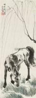 柳荫立马 立轴 设色纸本 - 116101 - 中国书画五 - 2010秋季艺术品拍卖会 -收藏网