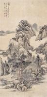 秋山烟霭 立轴 设色纸本 - 125686 - 名家书画·油画专场 - 2006夏季书画艺术品拍卖会 -收藏网