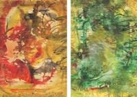 李青萍 无题 纸本丙烯 - 140360 - (西画)前辈经典专题 - 2006年秋季精品拍卖会 -收藏网