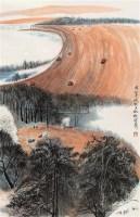 渭北丰收 立轴 设色纸本 - 4513 - 中国书画 - 第9期中国艺术品拍卖会 -收藏网