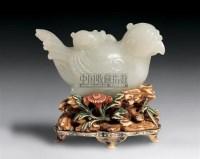 玉凤鸟摆件 -  - 中国古代工艺美术 - 2006年度大型经典艺术品拍卖会 -收藏网
