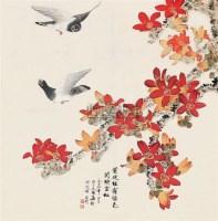和平延绵 (一件) 立轴 纸本 - 于非闇 - 字画下午专场  - 2010年秋季大型艺术品拍卖会 -中国收藏网