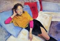 庞茂琨   女孩 - 庞茂琨 - 名家西画 当代艺术专场 - 2008年秋季艺术品拍卖会 -收藏网