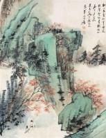山水 立轴 纸本 - 116070 - 文物公司旧藏暨海外回流 - 2010秋季艺术品拍卖会 -收藏网