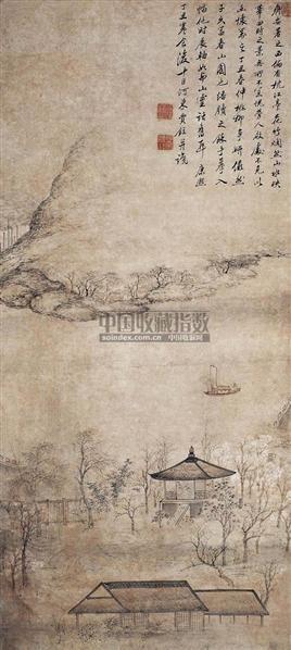 春江放舟图 - 5791 - 中国书画古代作品 - 2006春季大型艺术品拍卖会 -收藏网
