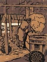 养鸭人 - 4119 - 油画 - 2010年秋季拍卖会 -收藏网