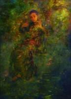 胡峻涤   晚风 -  - 名家西画 当代艺术专场 - 2008年秋季艺术品拍卖会 -中国收藏网
