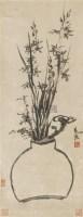 花卉 立轴 纸本 - 陈道复 - 文物公司旧藏暨海外回流 - 2010秋季艺术品拍卖会 -收藏网