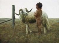 无疾金书 布面油画 - 张中亮 - 中国油画  - 2010年秋季艺术品拍卖会 -收藏网
