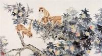 猴 镜片 纸本 - 方楚雄 - 中国书画(下) - 2010瑞秋艺术品拍卖会 -中国收藏网