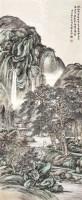 山水 设色纸本 立轴 - 郭兰祥 - 2011迎春书画大型拍卖会 - 2011迎春书画大型拍卖会 -收藏网