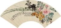 花卉 扇面 设色纸本 - 147725 - 中国书画一 - 2010秋季艺术品拍卖会 -收藏网