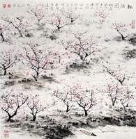 张仁芝 桃花源 硬片 - 张仁芝 - 中国书画、油画 - 2006艺术精品拍卖会 -中国收藏网