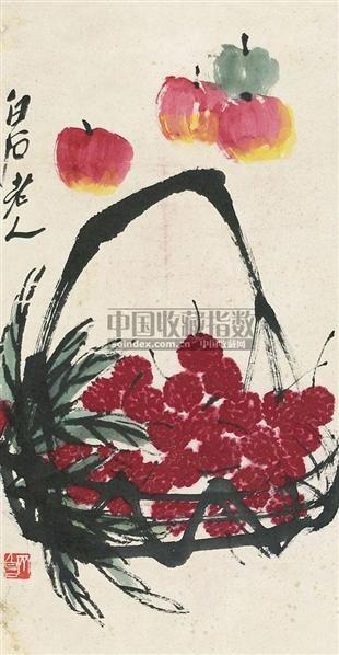 平安大利 镜心 纸本 - 116087 - 中国书画 - 2010年秋季书画专场拍卖会 -收藏网