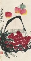 平安大利 镜心 纸本 - 齐白石 - 中国书画 - 2010年秋季书画专场拍卖会 -收藏网