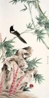 龚文桢 花鸟 立轴 - 龚文桢 - 中国书画、油画 - 2006艺术精品拍卖会 -收藏网