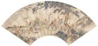 书法 水墨纸轴 - 王文治 - 近现代名家作品(二)专场 - 2005秋季大型艺术品拍卖会 -收藏网