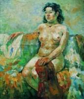 女人體 -  - 名家西画 当代艺术专场 - 2008年春季拍卖会 -收藏网