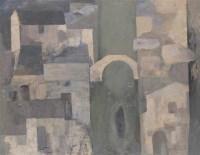 费正 2001年作 水乡·雨中 - 19499 - 当代艺术·卓克收藏专场 - 2006夏季大型艺术品拍卖会 -收藏网