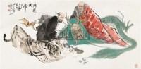 降龙伏虎 横幅 设色纸本 - 颜梅华 - 中国书画四·当代书画 - 2010秋季艺术品拍卖会 -收藏网