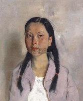青春 布面油画 - 140932 - 中国油画  - 2010年秋季艺术品拍卖会 -收藏网