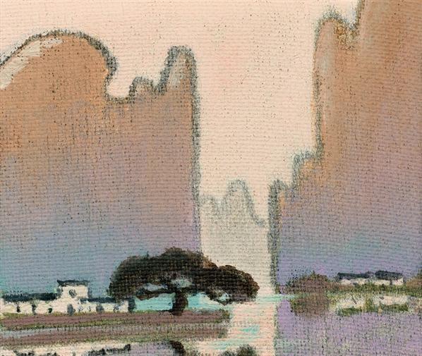 漓江山水(共六幅) - 140418 - 油画 - 2010年秋季拍卖会 -收藏网
