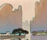 漓江山水(共六幅) - 涂克 - 油画 - 2010年秋季拍卖会 -收藏网