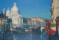 白色教堂 版画 - 陈逸飞 - 中国油画 - 第54期书画精品拍卖会 -收藏网