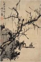 閔貞(1730~1788後)柳溪垂綸圖 -  - 中国书画古代作品专场(清代) - 2008年春季拍卖会 -收藏网
