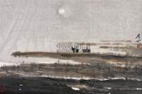 边疆情 镜片 设色纸本 - 白庚延 - 中国书画 - 2010秋季艺术品拍卖会 -收藏网