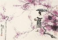 韩敏人物 设色纸本 立轴 -  - 2011迎春书画大型拍卖会 - 2011迎春书画大型拍卖会 -收藏网