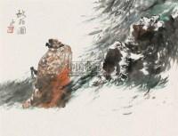 秋花图 镜心 设色纸本 - 杨延文 - 中国书画 - 第9期中国艺术品拍卖会 -中国收藏网