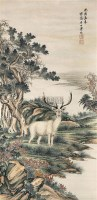 动物 立轴 纸本 - 溥伒 - 文物公司旧藏暨海外回流 - 2010秋季艺术品拍卖会 -收藏网