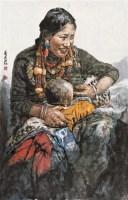 养育 软片 设色纸本 - 南海岩 - 中国书画 - 2010秋季艺术品拍卖会 -收藏网