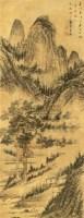 山水 立轴 绢本 - 王鉴 - 中国书画 - 2010秋季艺术品拍卖会 -收藏网