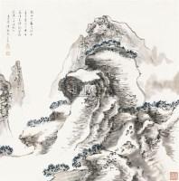 山水 立轴 纸本 - 车鹏飞 - 中国书画 - 2010秋季艺术品拍卖会 -收藏网