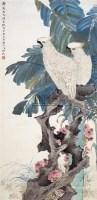 江寒汀(1903~1963)    蕉園鸚鵡圖 - 江寒汀 - 中国书画海上画派 - 2006春季大型艺术品拍卖会 -收藏网