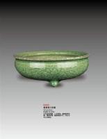 龙泉窑三足炉 -  - 瓷器 - 2010年大型精品拍卖会 -中国收藏网