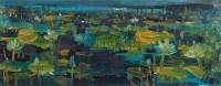 荷花 (一件) 板面 - 林风眠 - 字画下午专场  - 2010年秋季大型艺术品拍卖会 -中国收藏网
