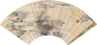 山水 立轴 纸本 -  - 扇面小品 - 2010秋季艺术品拍卖会 -收藏网