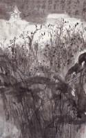 寒山寺 - 亚明 - 西泠印社部分社员作品 - 2006春季大型艺术品拍卖会 -收藏网