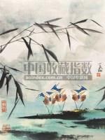 花鸟 立轴 设色纸本 - 131645 - 中国书画 - 第9期中国艺术品拍卖会 -收藏网