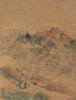 人物 立轴 绢本 - 仇英 - 中国书画(下) - 2010瑞秋艺术品拍卖会 -收藏网