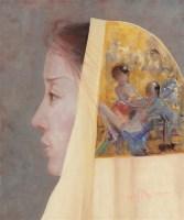 邢建建 人物肖像 布面油画 -  - (西画)当代艺术专题 - 2006年秋季精品拍卖会 -收藏网